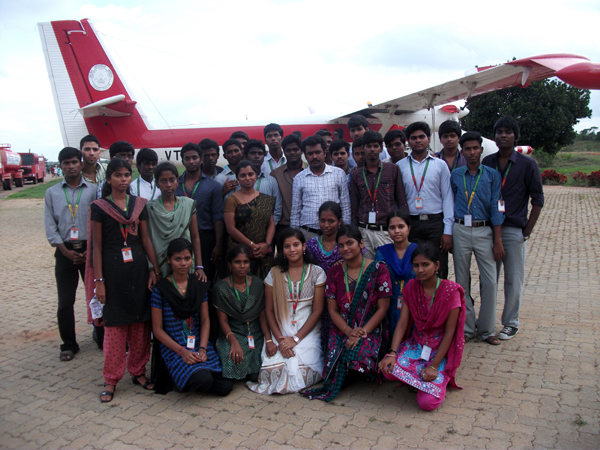 Industrial Visit to Bangalore by II year EEE on 24 Jan 2010