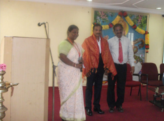 Guest Lecture by Dr.M.Sreekumar, Indian Institute of Information Technology on