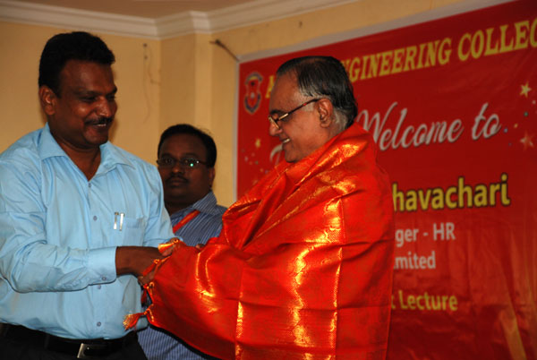 Expert Lecture by Shri.N.N.Raghavachari, Sr. General Manager - HR, Lucas TVS Ltd