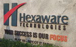 Industrial visit to Hexaware by  IT students on 11 Oct 2012