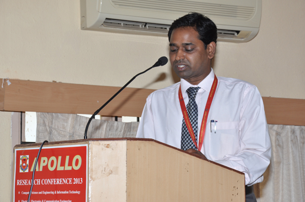 CSE Forum Inauguration & Expert Lecture by Mr. Ram Singampalli, Vice President, Strategic Initiatives, SYNTEL, organised by Dept of CSE, on 27 July 2013