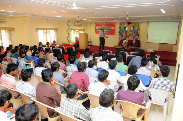 Guest Lecture on 'Rearchitecturing Product Development', organised by Dept of CSE, on 08 March 2014