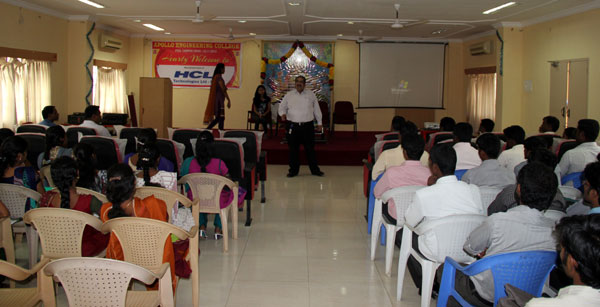 Pool Campus Drive by HCL Technologies Ltd - BSERV  on 23 Nov 2013