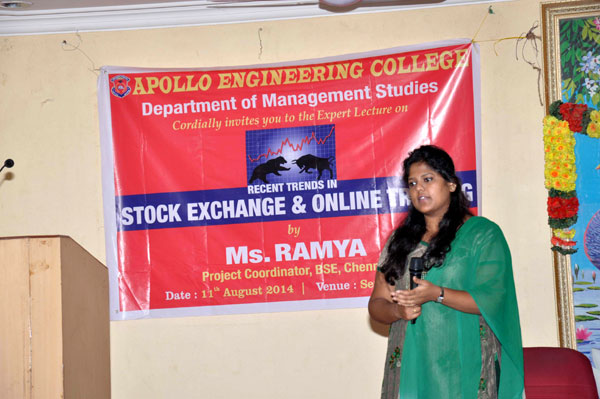 Stock Exchange &  Online Trading on 11 August 2014