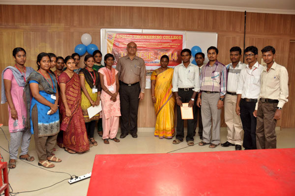 ICRTCSE - 2014 Organized by the Department of CSE on 02 May 2014