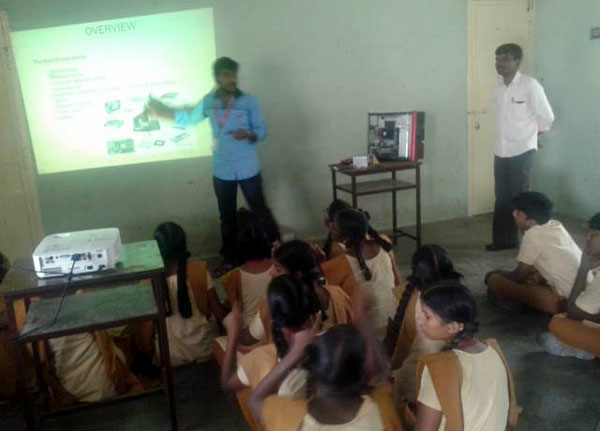Report of 2 Days NSS Day Camp to DR. M. G. R. Home & Higher Secondary School for the Speech & Hearing Impaired, Ramavaram, on 21 -  22 Jan 2016