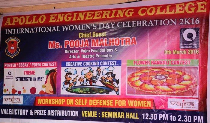 International Women's Day Celebrations, on 08 Mar 2016