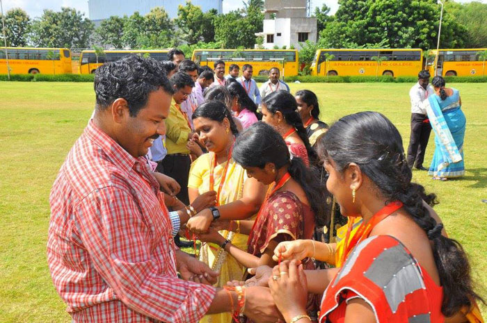 Raksha Bandhan, on 21 Aug 2016