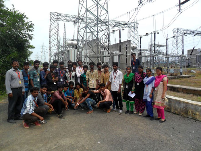Visit to Tamil Nadu Transmission Corporation Ltd, on 06 Sep 2016