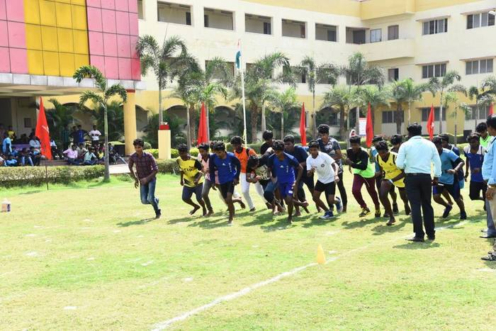 Sports Day, on 17  Feb 2018